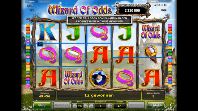 Wizard Of Odds 8