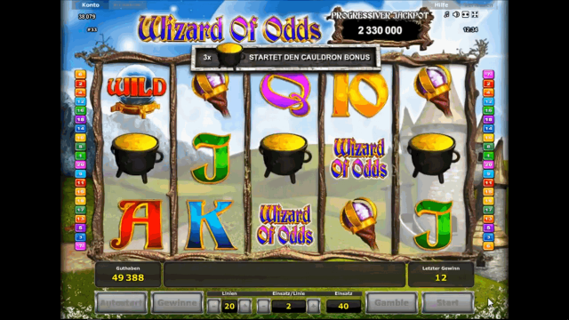 Wizard Of Odds 9