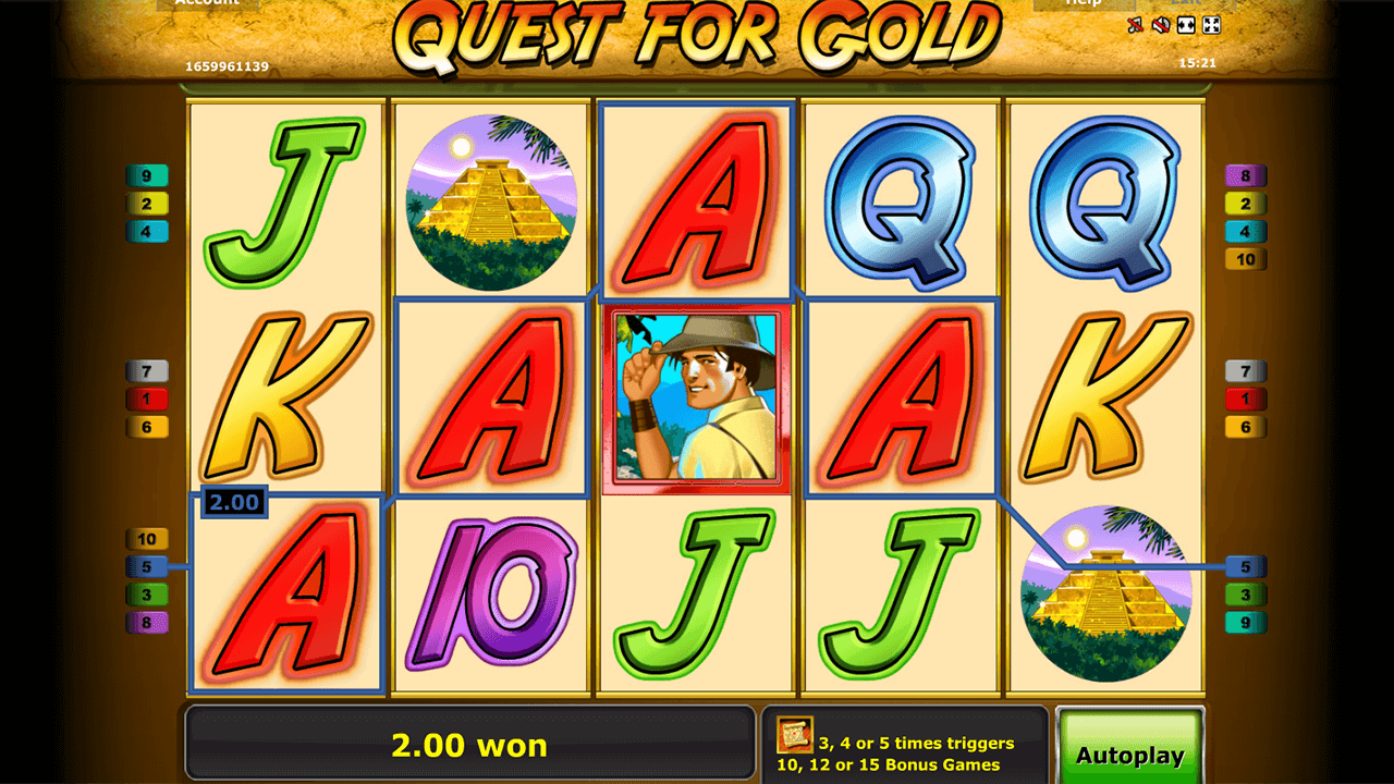 Quest for gold 8
