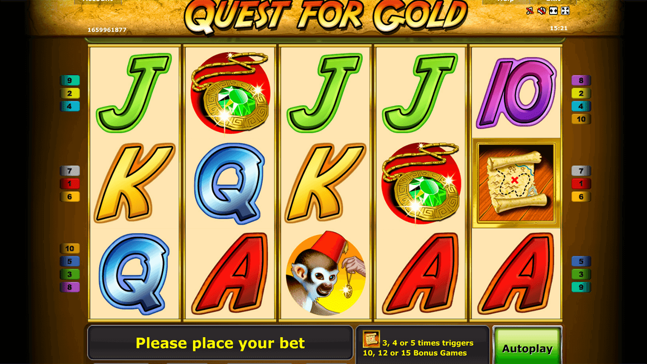 Quest for gold 9
