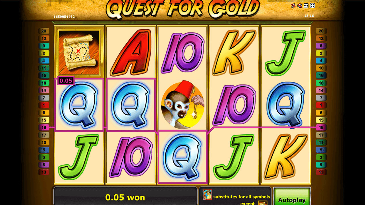 Quest for gold 1