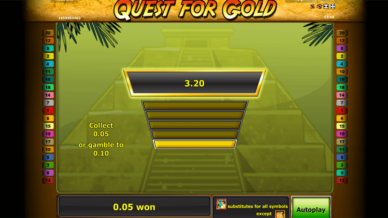 Quest for gold 2