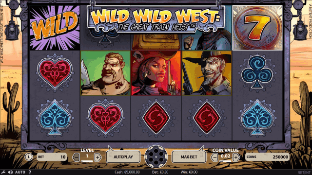 Wild Wild West: The Great Train Heist 2